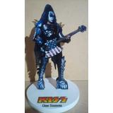 Kiss, Gene Simmons, Figura, Artesanal Coleccionable