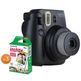 Paquete Fujifilm Instax Mini 8 Negro Más 30 Películas