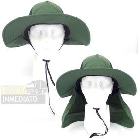 Sombrero 2 En 1 Campismo Caza Pesca Playa Cuello Protector 1480ce3ba28