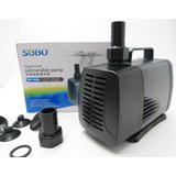 Bomba Agua Sumergible Para Acuarios Wp-5000 Sobo