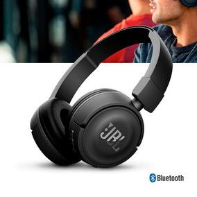Fone De Ouvido Sem Fio Jbl T450 Bt Preto Bluetooth 450bt Ear