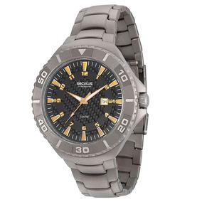 0c8e7e7c390 Relogio Seculus Titanium 5atm - Relógios no Mercado Livre Brasil