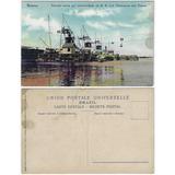 Amazonas Anos 1910 Cartão Postal Flutuante Das Torres Manaus