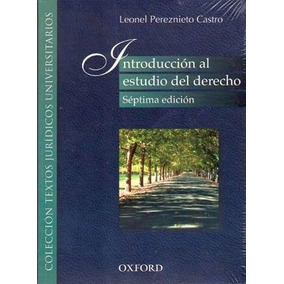 Introduccion Al Estudio Del Derecho 7ed.