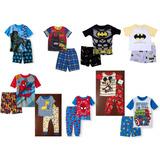 Pijama Super Heroes Bebe Y Niño