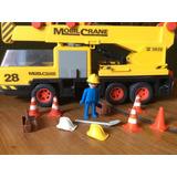 Playmobil Grua Construccion