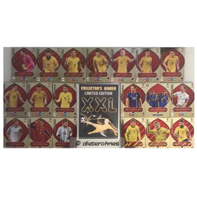 Panini Adrenalyn Russia 2018 Xxl 19 Limited Cards Completo