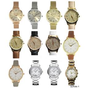 Lote Surtido Relojes Mujer Dama 12 Piezas Precio Mayoreo