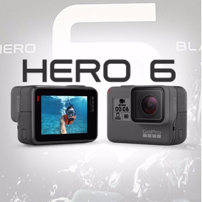 Go Pro Hero6 Black Camera Ultra Hd Super Lançamento (nova)