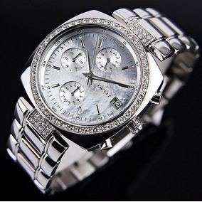 f16959d33f1 Relógio Luxo Feminino Dkny Donna Karan Prateado C nf Ny4907