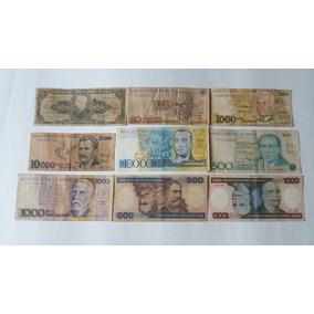09 Cédulas De Dinheiro - Notas Antigas - Cod09