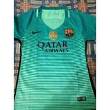 bb6cac783f944 Camiseta Barcelona Mujer - Fútbol en Mercado Libre Colombia