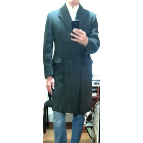 Abrigo estilo ingles hombre