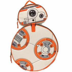 Bb8 Star Wars Mochila Backpack Con Lonchera Nueva