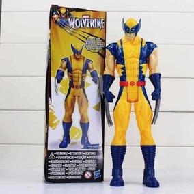 Boneco Wolverine Logan Marvel X-men Xmen 30cm Novo Na Caixa