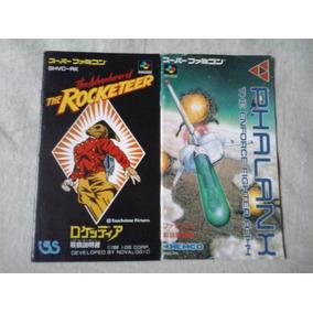 Manual Jogo Nintendo Famicon Phalanx - Rocketeer