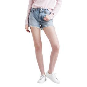 Shorts Jeans Levis Feminino 501 High Rise Clara