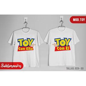 Playeras De Pareja Toy Story toy Con Ella/el