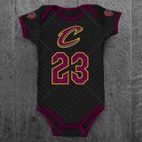 Body Nba Cleveland Cavaliers Personalizado C  Nome Do Bebê d881a181a86