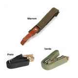 Bandoleira 2 Pontas Cbc + 1 Par De Zarelho P/ Rifle Cbs 7022