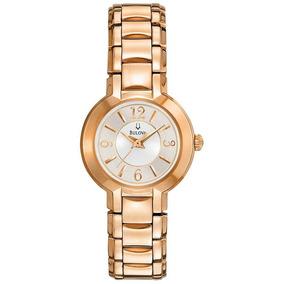 d37270f724c Relógio Bulova Wb27181h Rosê Feminino - Relógios De Pulso no Mercado ...