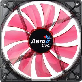 Cooler Fan Lightning 140mm Vermelho Aerocool