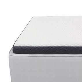 Topper Híbrido Memory Foam + Latex 1 Plaza Drimkip