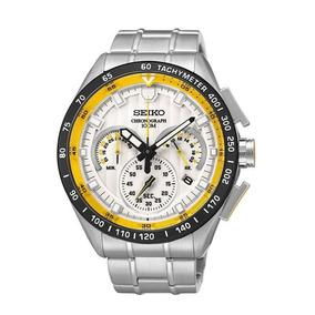 Relógio Seiko Cronograph Vk63ab/1b - 100 M C/ Certificado