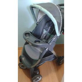 Carrinho De Bebê Com Cadeira Para Auto.