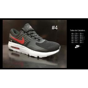5b9eac10d0a91 Nike Rojos Modelo Air Max - Zapatos Nike de Hombre Negro en Mercado ...