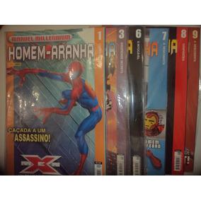 Homem Aranha Marvel Millennium 1 A 19 Panini Frete Gratis*
