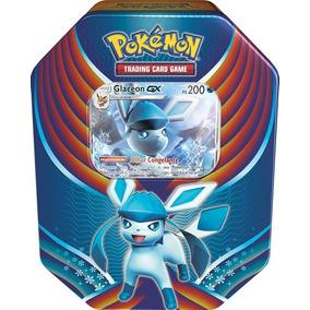 Pokémon Lata Gx Celebração De Evolução - Glaceon Gx