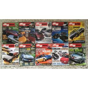 Lote 10 Revistas Quatro Rodas Janeiro Até Outubro De 2001