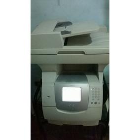 Fotocopiadora Multifuncional Lexmark X642e Pantalla Tactil