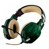 Auricular Mic. Trust Gaming Gxt 322c Gamer Play 4 Xbox Pc