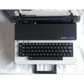 Máquina De Escribir Olivetti Personal E T 50