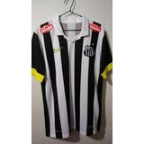 Camisa Santos Listrada Nike no Mercado Livre Brasil fd9a17391b2f4