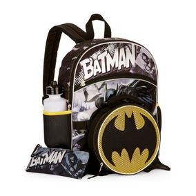 Dc Comics - Pack De 5 Products Escolares De Batman Mochila