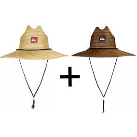 Dois Chapéus Quiksilver Pierside (palha) - Original
