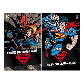 Encadernados - A Morte Do Superman - Volume 1 E 2
