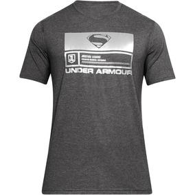 Playera Liga De Justicia Superman Hombre Under Armour Ua2684