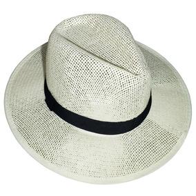 Sombrero Hombre Para Playa Con Cinta Sombrero Gacho Panama - b4f7bea9f0c