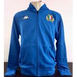 Jaqueta Com Capuz Seleção Italia De Rugby Kappa Importada d01089473d1e1