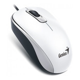 Mouse Genius Dx 110 Usb Optico Blanco