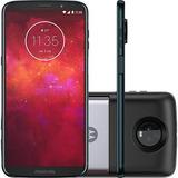 Smartphone Motorola Moto Z3 Play Powerpack Dtv 64gb Índigo