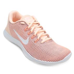 Tenis Feminino Nike Flex 2018 Rn - Pêssego