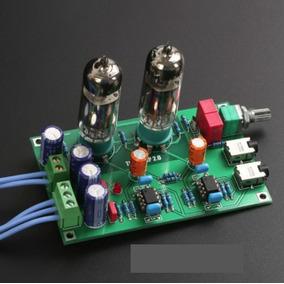 Kit Amplificador Headphone Valvulado Hd600, Hd700, Dt990 Etc