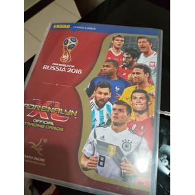 Pasta Cards Adrenalyn 2018 Copa Do Mundo Completa