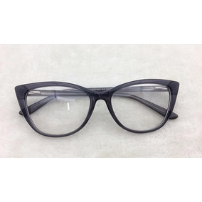 Armação Para Óculos Grau Preto Rajado Importada (nova) - Óculos no ... 3275a2a500