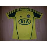 fc89bab535 Camisa Palmeiras Amarela Centenario Infantil no Mercado Livre Brasil